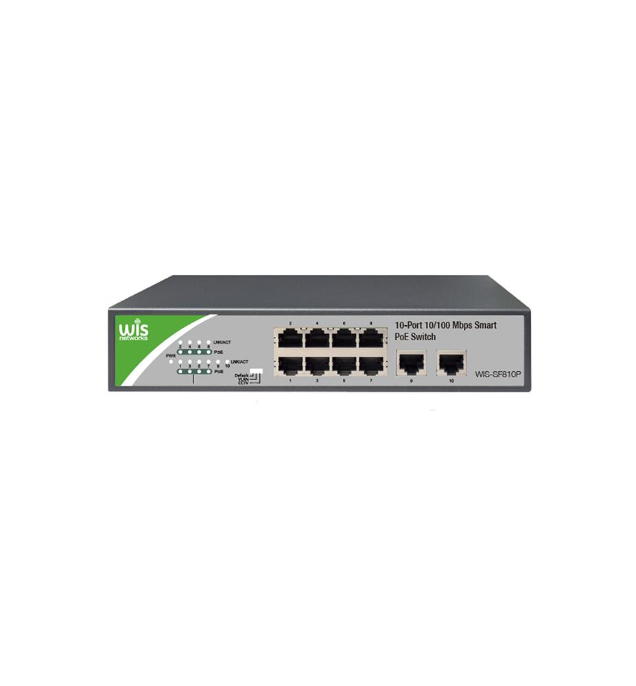 Wis Gigabit Poe 10 Port Switch Krypto Security Systems Cyprus