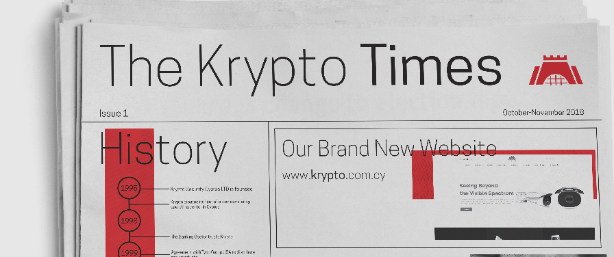 Krypto introduces The Krypto Times