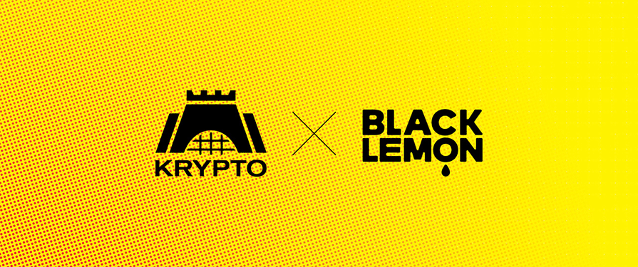 Krypto Proudly Announces its New Thrilling Collaboration with Black Lemon